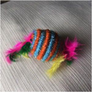 Brinquedo para Gatos sisal em forma de Doces com Catnip