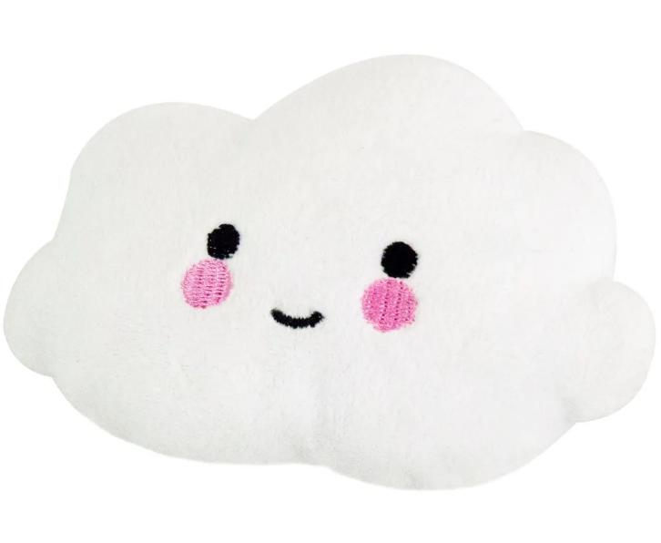 Brinquedo Pelúcia Nuvem para Cães e Gatos apito sonoro