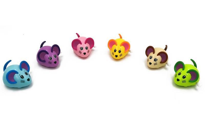 Brinquedo Ratinho de corda animado para Gatos