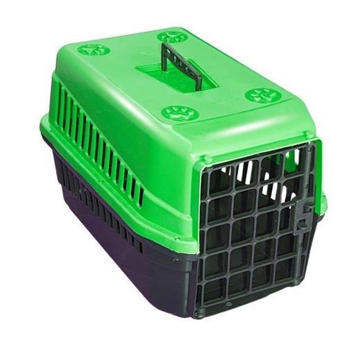 Caixa De Transporte n3 Para Cães E Gatos Grande Verde
