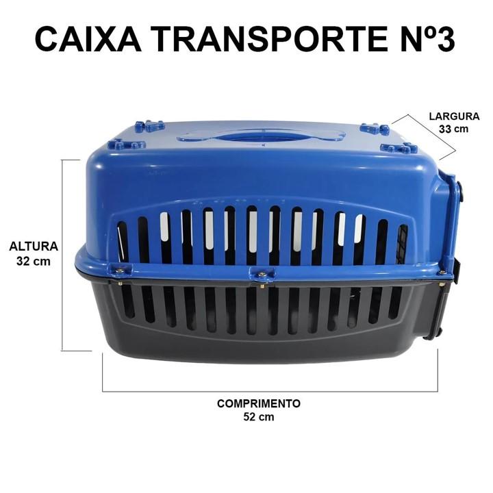 Caixa Transporte N.3 Cão e Gato