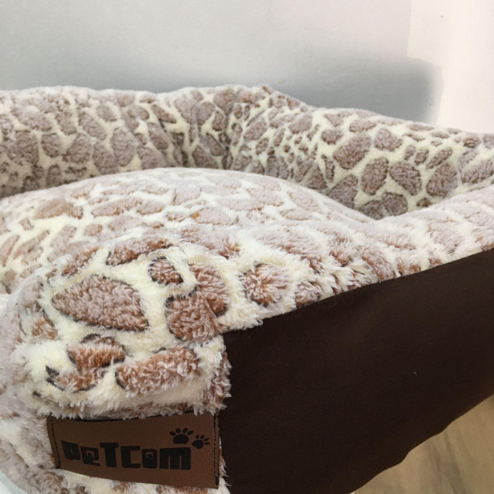 Caminha Quadrada Super Luxo para Cães PETCOM