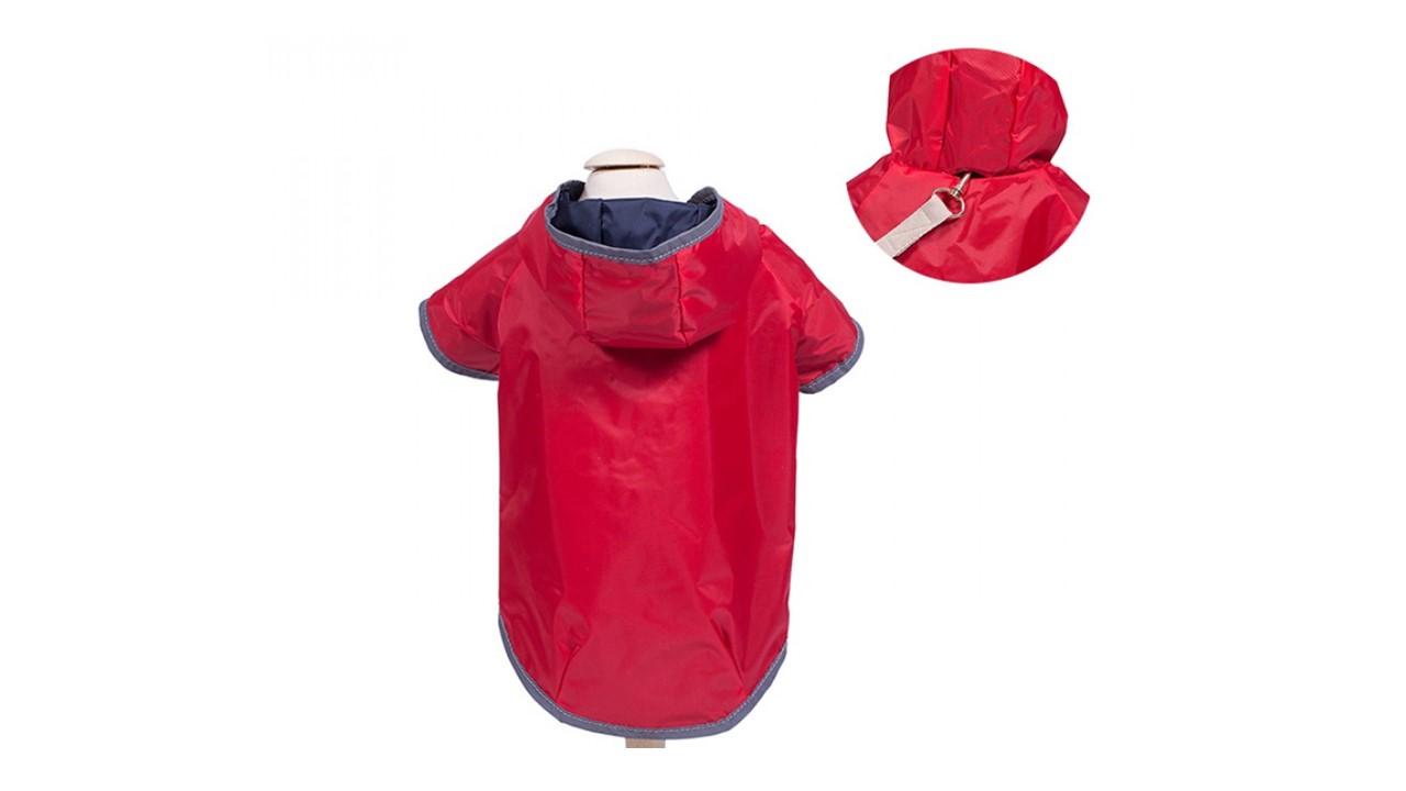 Capa de chuva para Pets - Vermelha