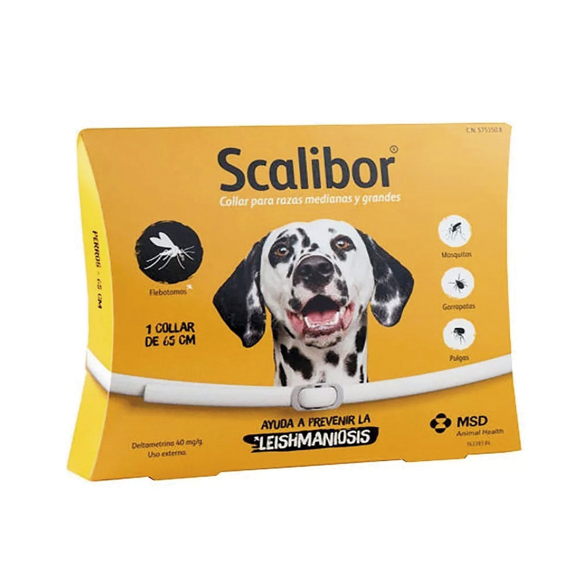 Coleira Anti-pulgas para Cães Antiparasitas Scalibor