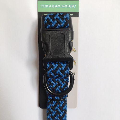 Coleira de Nylon Luxo Super Resistente Para Cães