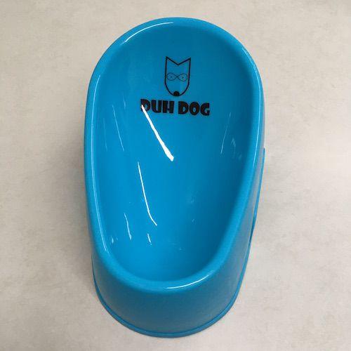 Comedouro para cães sem borda inovador Duh Dog 200ml