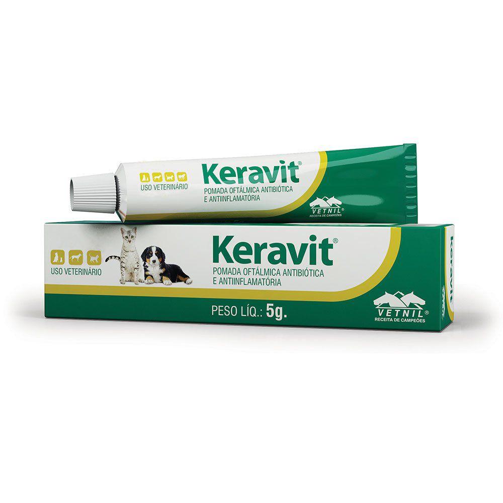 Keravit Pomada oftalmológica para Cães 5g