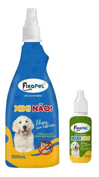 Kit Educador Para Cães Pet Xixi Pode Não Pode Atrativo 520ml