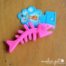 Brinquedo Mordedor De Borracha Peixinho para Cães