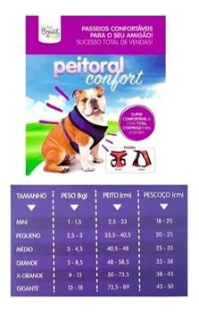 Peitoral Confort para Cães M - The Pets Brasil