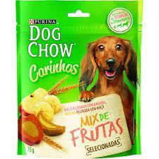 PETISCO DOG CHOW CARINHOS MIX DE FRUTAS 75g