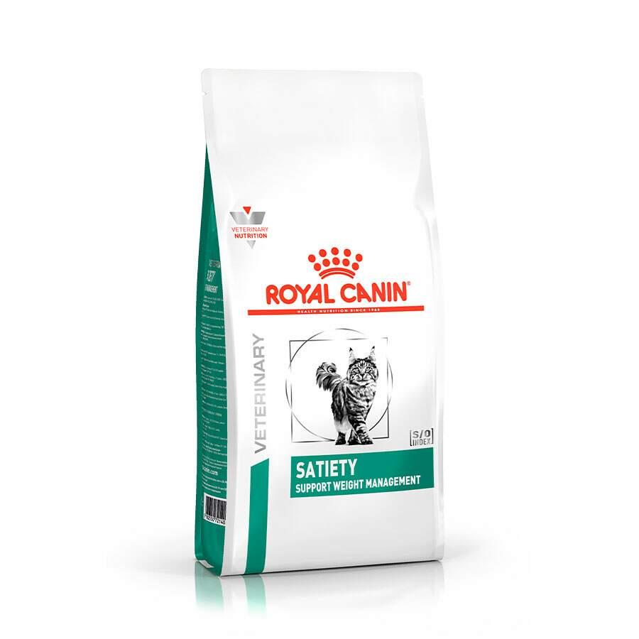 Ração Royal Canin Feline Veterinary Satiety para Gatos Obesos - 1,5kg