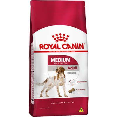 Ração Royal Canin Medium Adult para Cães Adultos de Raças Médias 2.5Kg