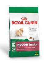Ração Royal Canin Mini Indoor Junior para Cães Filhotes 2.5Kg