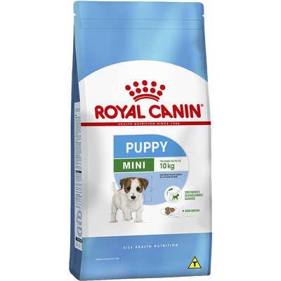 Ração Royal Canin Mini Junior para Cães Filhotes de Raças Pequenas de 2 a 10 Meses de Idade 1Kg
