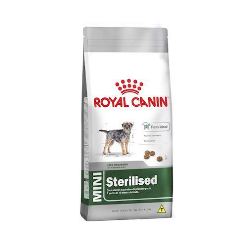 Ração Royal Canin Mini Sterilised para Cães Adultos 1Kg
