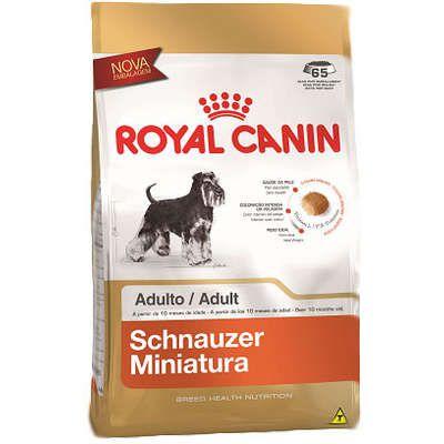 Ração Royal Canin Miniature para Cães Adultos da Raça Schnauzer 2.5Kg