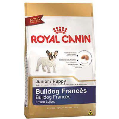 Ração Royal Canin para Cães Filhotes da Raça Bulldog Francês 1Kg