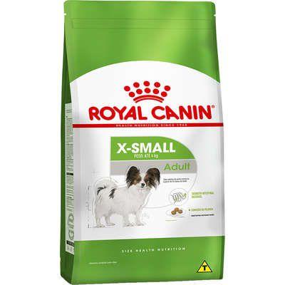 Ração Royal Canin X-Small para Cães Adultos 1Kg