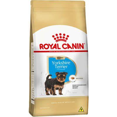 Ração Royal Canin Puppy Yorkshire Terrier para Cães Filhotes 1Kg