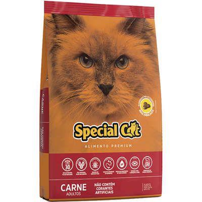 RAÇÃO SPECIAL CAT CARNE GATOS ADULTOS 1KG
