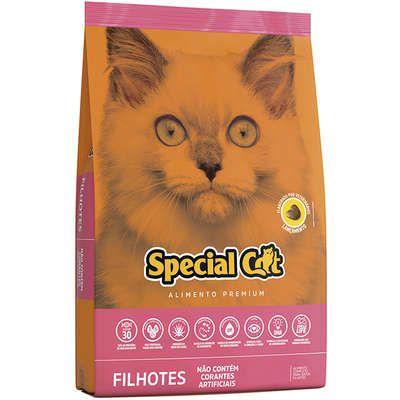 RAÇÃO SPECIAL CAT PARA GATOS FILHOTES 1KG