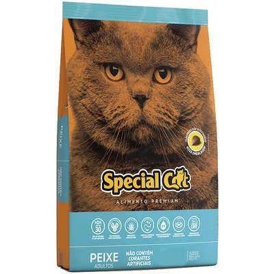 RAÇÃO SPECIAL CAT PEIXE GATOS ADULTOS 1KG