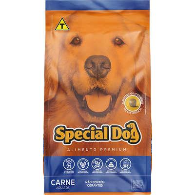 Ração Special Dog Premium Carne Cães Adultos 1Kg