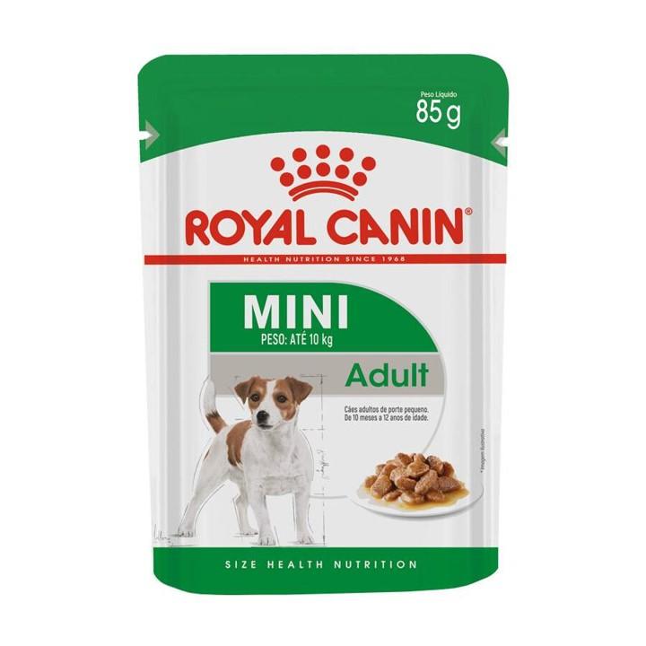 Ração Úmida Royal Canin Sachê para Cães Mini Adulto 85g