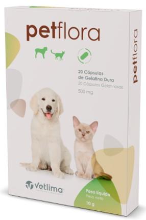Suplemento vitamínico Petflora 500mg - 1 Comprimido