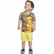 Camiseta Bebê Rei Leão Mescla