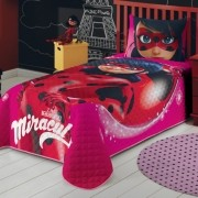 Cobre Leito Infantil Ladybug Lepper Matelassê