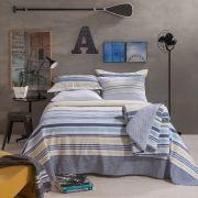 Jogo de Cama Solteiro Santista Home Design Olivier