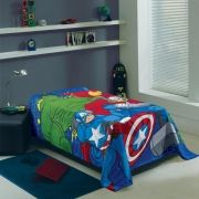 Manta Infantil Avengers Lepper Fleece