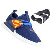 Tênis Grendene Superman com Óculos de Realidade Virtual