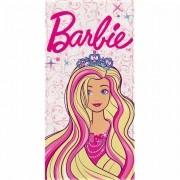 Toalha de Banho Barbie Felpuda Infantil Princess