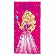 Toalha de Banho Barbie Princesa Aveludada Infantil