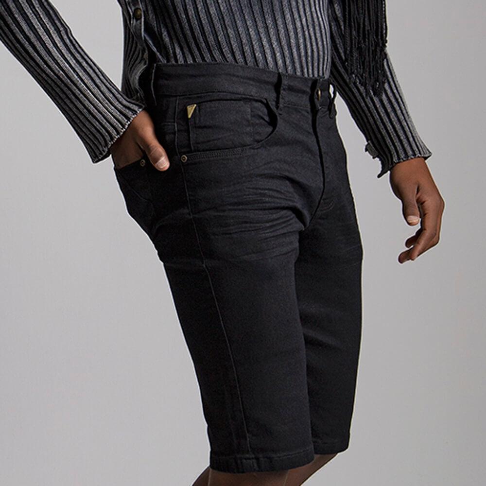 Bermuda Masculina Jeans Burke