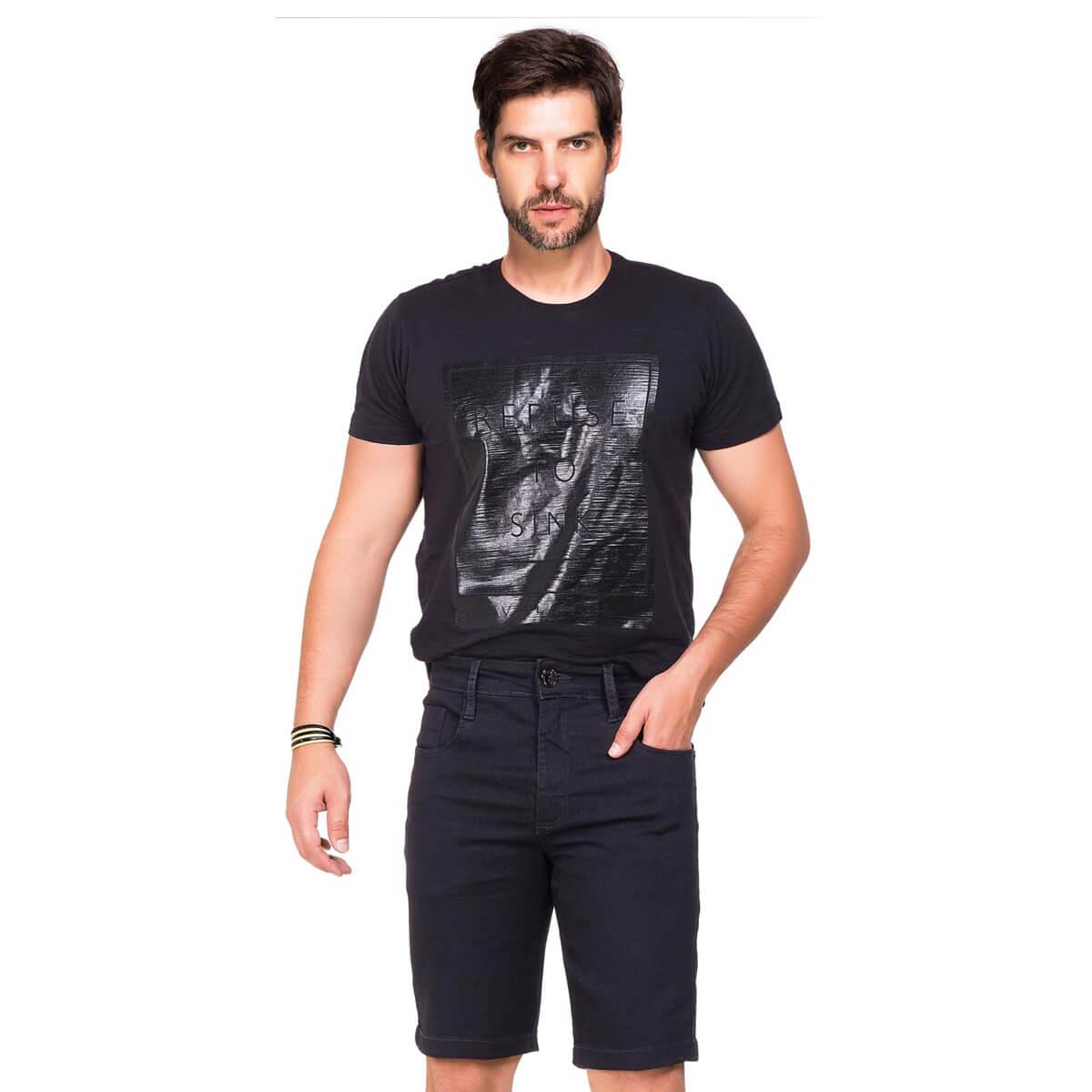 Bermuda Masculina Jeans Caleb