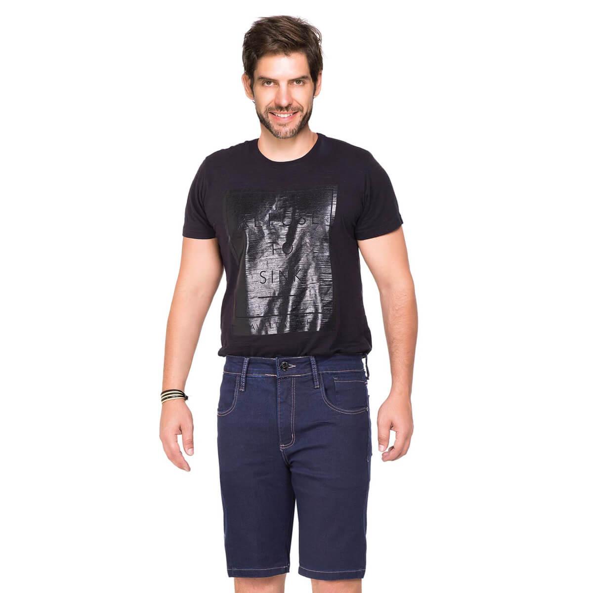 Bermuda Masculina Jeans Jacob