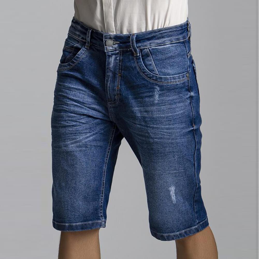 Bermuda Masculina Jeans Johnny