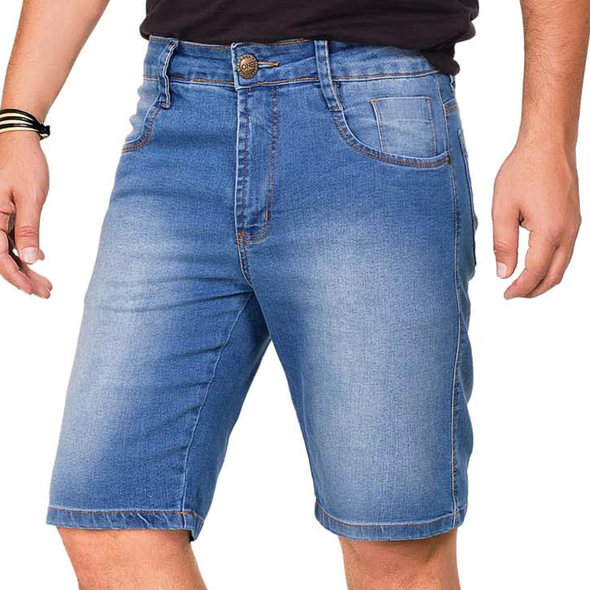 Bermuda Masculina Jeans Mason