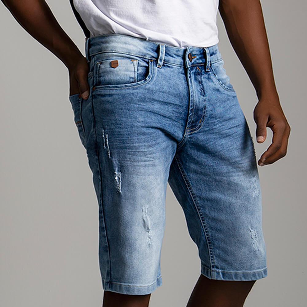 Bermuda Masculina Jeans Travis