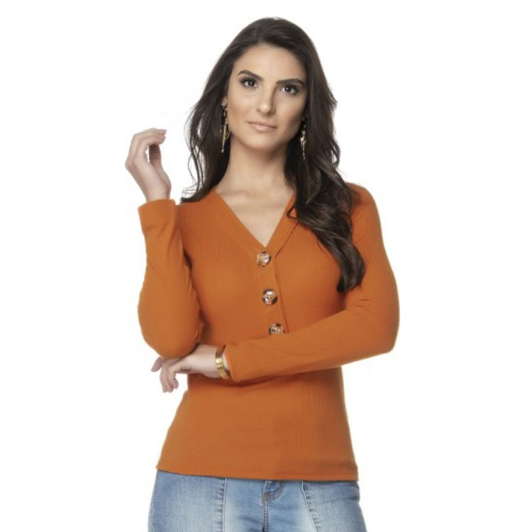 Blusa Feminina Canelada