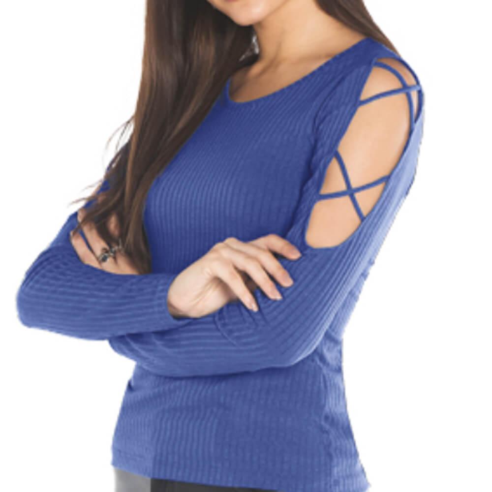Blusa Feminina Orion Azul