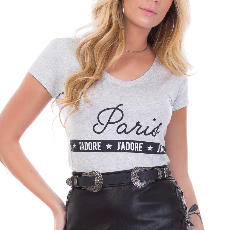 Blusa Feminina Paris