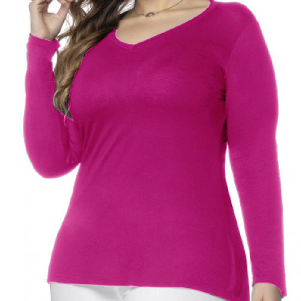 Blusa Feminina Plus Vest Legging Pink
