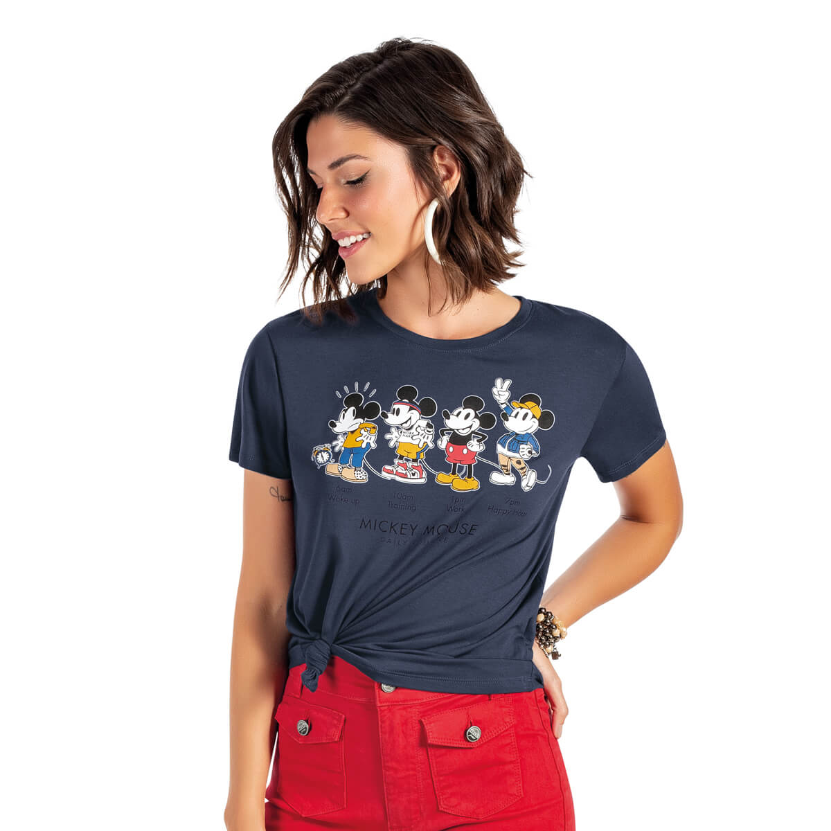 Blusa Feminina Viscolycra Mickey Mouse