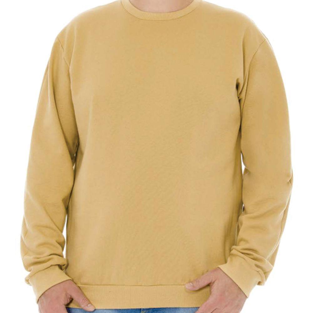 Blusa Masculina Moletom Básica Plus Cobre