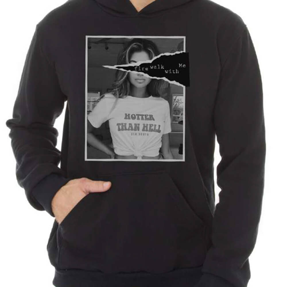 Blusa Masculina Moletom Canguru Estampada Hotter